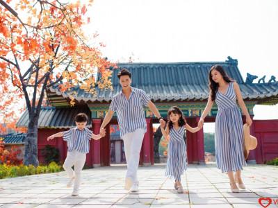 Album gia đình Dã Ngoại Phong cách Hàn Quốc