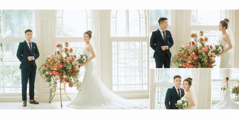 Chụp ảnh cưới trong phim trường