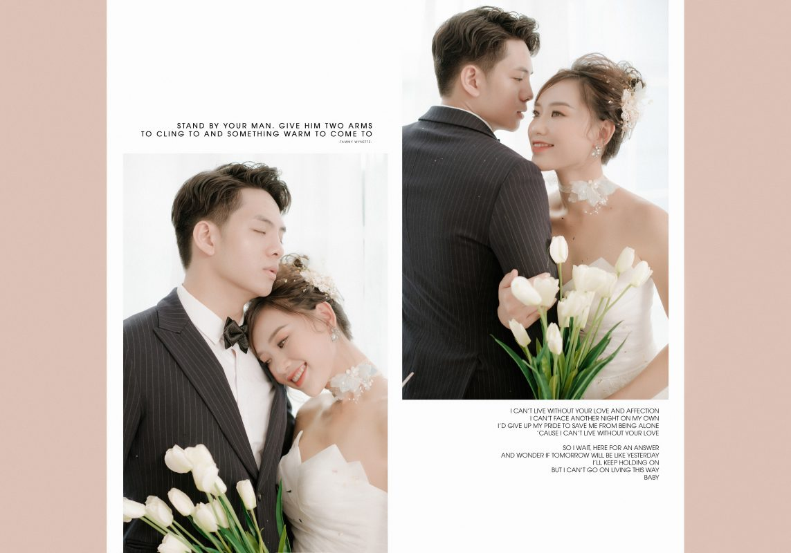 Studio chụp ảnh cưới phong cách Hàn Quốc