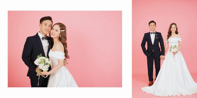 Gói chụp ảnh cưới trong studio