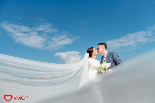 Chụp ảnh cưới đẹp vào mùa hè