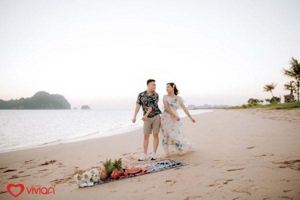 Chụp ảnh cưới đẹp tại bãi biển