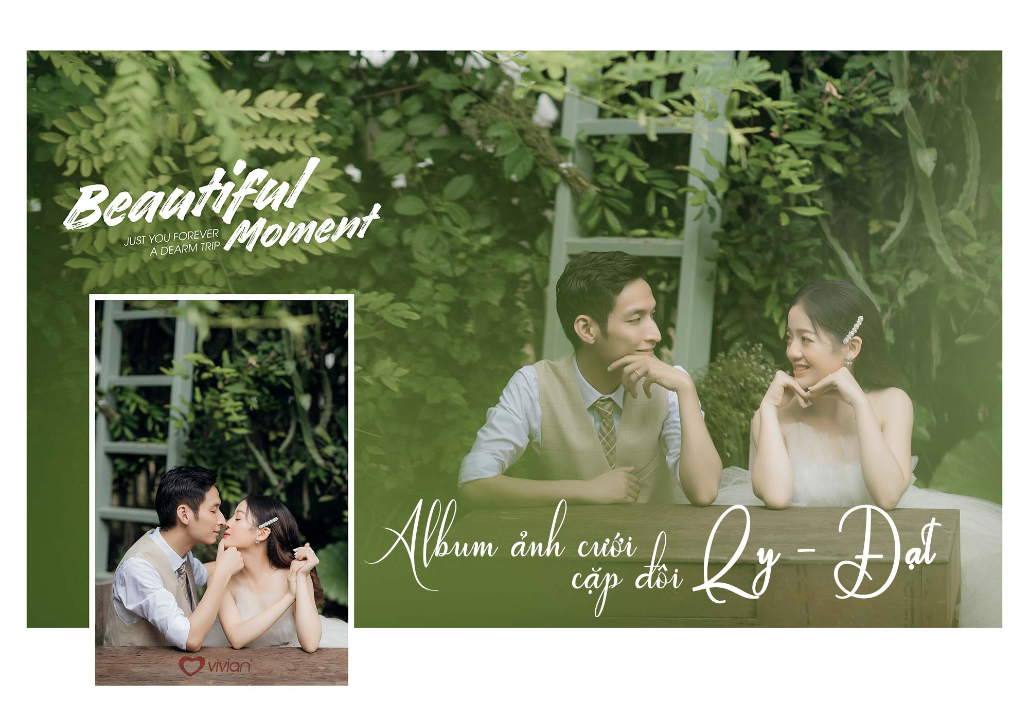 Album ảnh cưới cặp đôi Ly – Đạt
